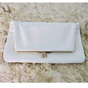 VNTG: Leather Clutch